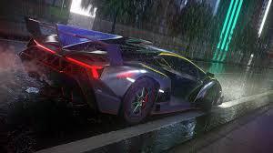 Lamborghini Veneno All Black - making of lamborghini veneno hum3d blog