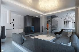 living room modern living room kitchen with amazing tangled wire