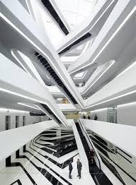 dominion dominion office building zaha hadid architects archdaily
