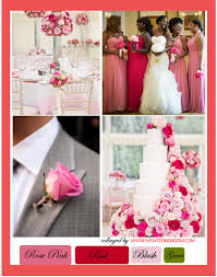 rose pink and red color palette u2013 my wedding nigeria