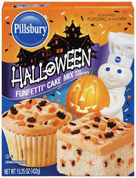 amazon com pillsbury funfetti halloween cake mix 15 25 ounce