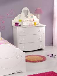 coiffeuse pour chambre coiffeuse pour chambre enfant couleur blanc laque mathilde