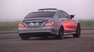 nyjah huston mercedes cls 63 amg vossen project mercedes cls63 amg tuned by renntech