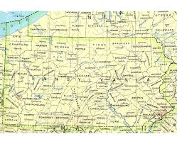 Pennsylvania Maps by Maps Of Pennsylvania State Collection Of Detailed Maps Of