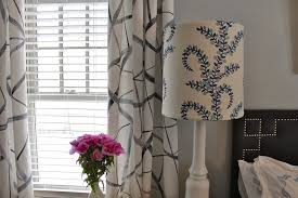 Painting Fabric Curtains Gorgeous Shiny Things Painted Geometric Drapes