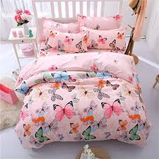 soft bed sheets lemontree butterfly bedding set girls soft bedding collection