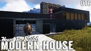 Ark House Designs by Ark Modern House W Dino Garage How To Build An Ultra Modern