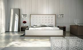 Floor Mirrors For Bedroom by Bedroom Unique Shape White Tufted Headboard With Grey Wall And