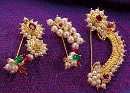 Buy Maharashtrian Traditional Nath Clip Bajirao Mastani Jewellery Pngadgil
