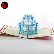 Cheap Wedding Invitations And Response Cards Online Buy Wholesale Pop Up Wedding Invitations Card From China
