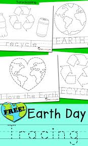 free printable word tracing sheets earth day picture word tracing totschooling toddler preschool