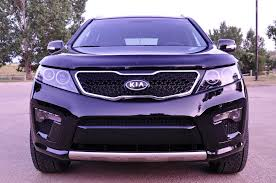 black kia sorento sx 2012 with aftermarket led lights kia news blog