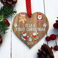Baby First Christmas Tree Bauble babys first christmas gifts ebay