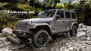 2018 jeep wrangler interior fully revealed leaked 2018 jeep wrangler options list includes a big change to the