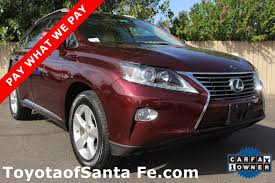 lexus rx for sale albuquerque pay what we pay toyota of santa fe