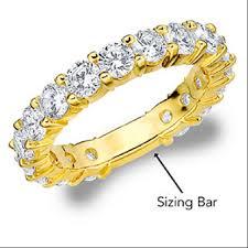 sizing gold rings images Resize eternity ring ring sizing bar eternity wedding bands png