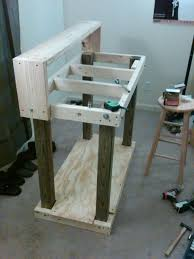 Simple Wood Bench Instructions by Best 25 Reloading Bench Ideas On Pinterest Reloading Bench