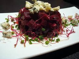 cuisiner des betteraves rouges recette de betteraves rouges en tartare et bleu d auvergne