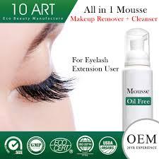 best oil free makeup remover for eyelash extensions mugeek