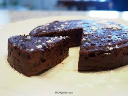 guilt free instant pot chocolate pudding cake this pilgrim life