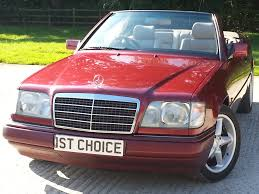 classic red mercedes used mercedes e class e220 convertible fantastic condition a very