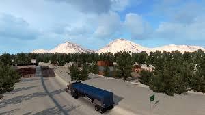 Alaska Map Usa by Ats Usa Offroad And Alaska Map 1 3 American Truck Simulator Mods