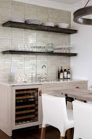 ann sacks kitchen backsplash taupe kitchen with zinc wall shelves contemporary kitchen