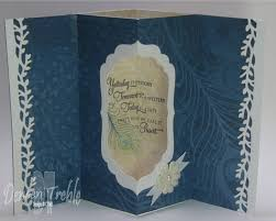 a path of paper a fancy fold card and tutorial