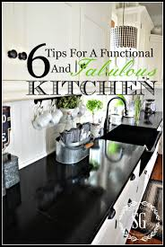 6 tips for a functional and fabulous kitchen stonegable
