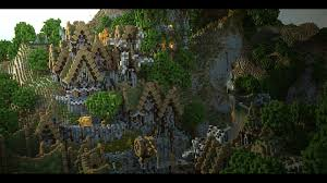delgaro forest survival games map with cinematic minecraft project