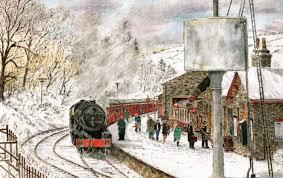 2017 christmas cards kwvr keighley u0026 worth valley railway