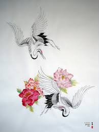 cranes le tatouage tattoo pinterest crane tattoo symbols