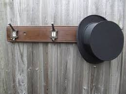 woods vintage home interiors number hat and coat hook board by woods vintage home interiors