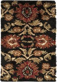 Black And Brown Area Rugs Surya Arabesque Abs3027 Brown Grey Floral And Paisley Area Rug