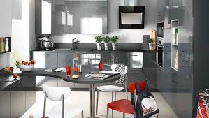 exemple cuisine moderne exemple de cuisine quipe cheap exemple amnagement cuisine top