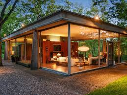 own an award winning mid century glass house for just 619k