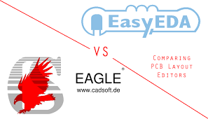 layout editor comparison easyeda vs eagle comparing pcb layout editors extreme electronics