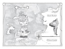 Book Map Book Stuff A Court Of Thorns And Roses Map Prythian