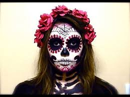 catrina costume blood catrina sugar skull tutorial