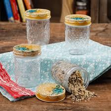 storage jars the pioneer woman betsy 8oz storage jars set of 4