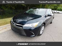 toyota camry 2017 used toyota camry le automatic at toyota of fayetteville