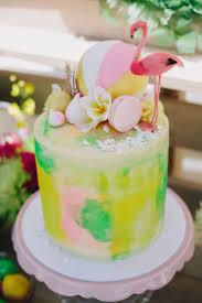 Tropical Themed Cake - 155 best flamingo cakes images on pinterest flamingo cake