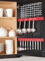Kitchen Organizers For Cabinets 25 Organization Ideas For The Home Measuring Cup Organization