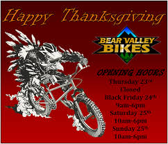 thanksgiving hours valley bikes