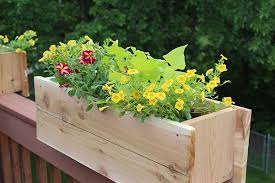 ana white deck railing planter featuring bob vila diy projects