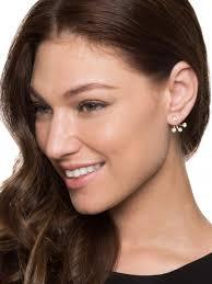 two sided earrings earrings with decorative backs hanapin sa fashion