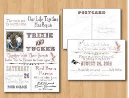template rsvp wedding postcard template