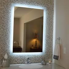 Wall Vanity Mirror Bathroom Design Beautiful Lighted Vanity Mirror For Inspiring