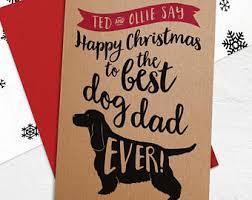 christmas card dad etsy