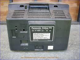 obsolete technology tellye panasonic quintrix tc 430eu year 1980